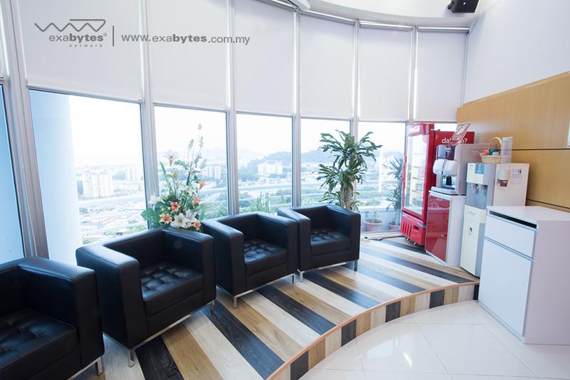 Exabytes Network Penang lobby view