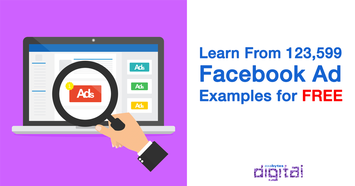 learn from 123 599 facebook ad examples for free exabytes digital