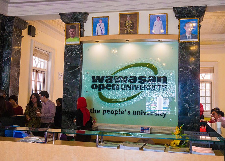 Wawasan Open University front desk 1