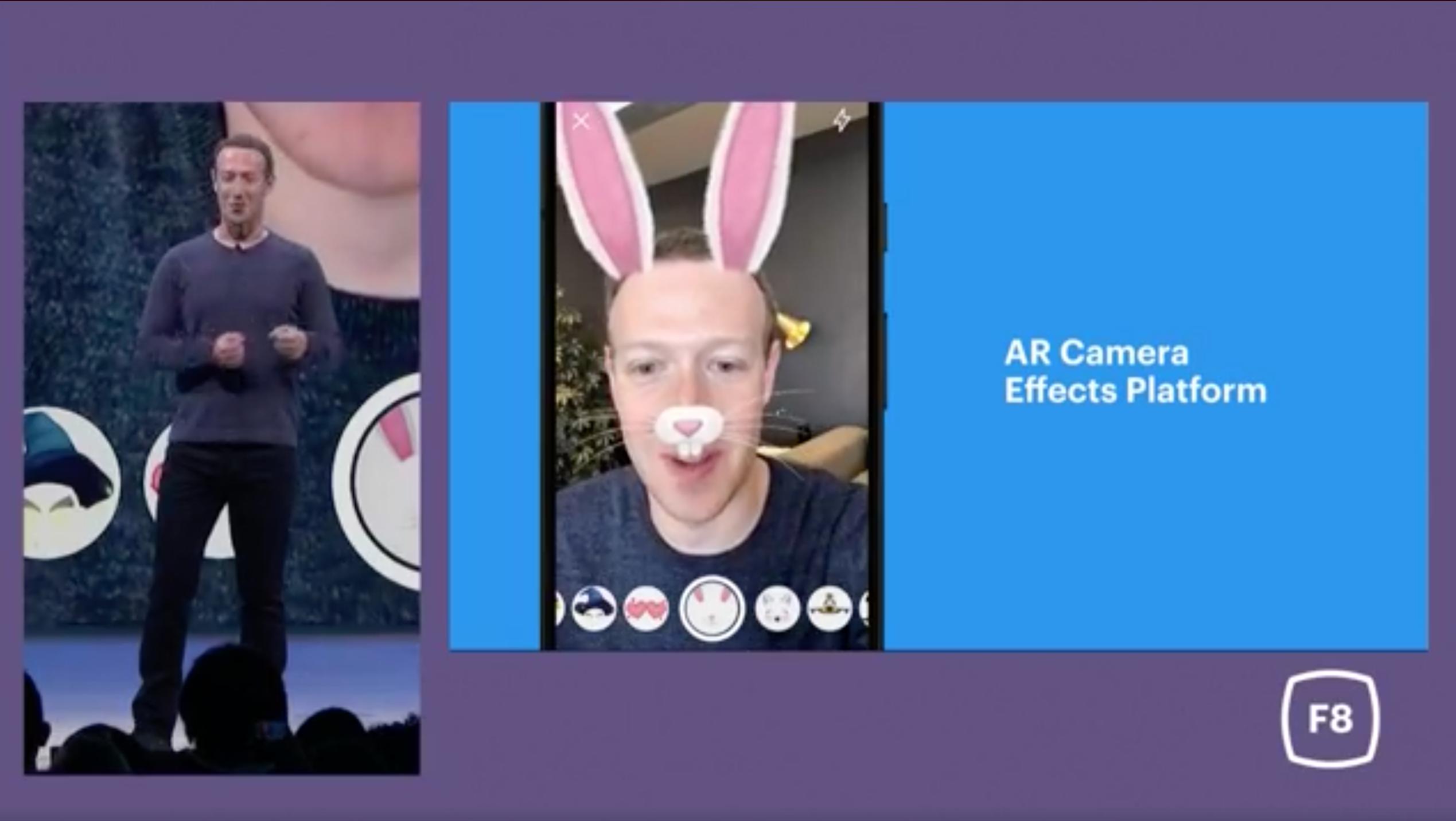 Facebook Messenger AR Camera Effects Platform