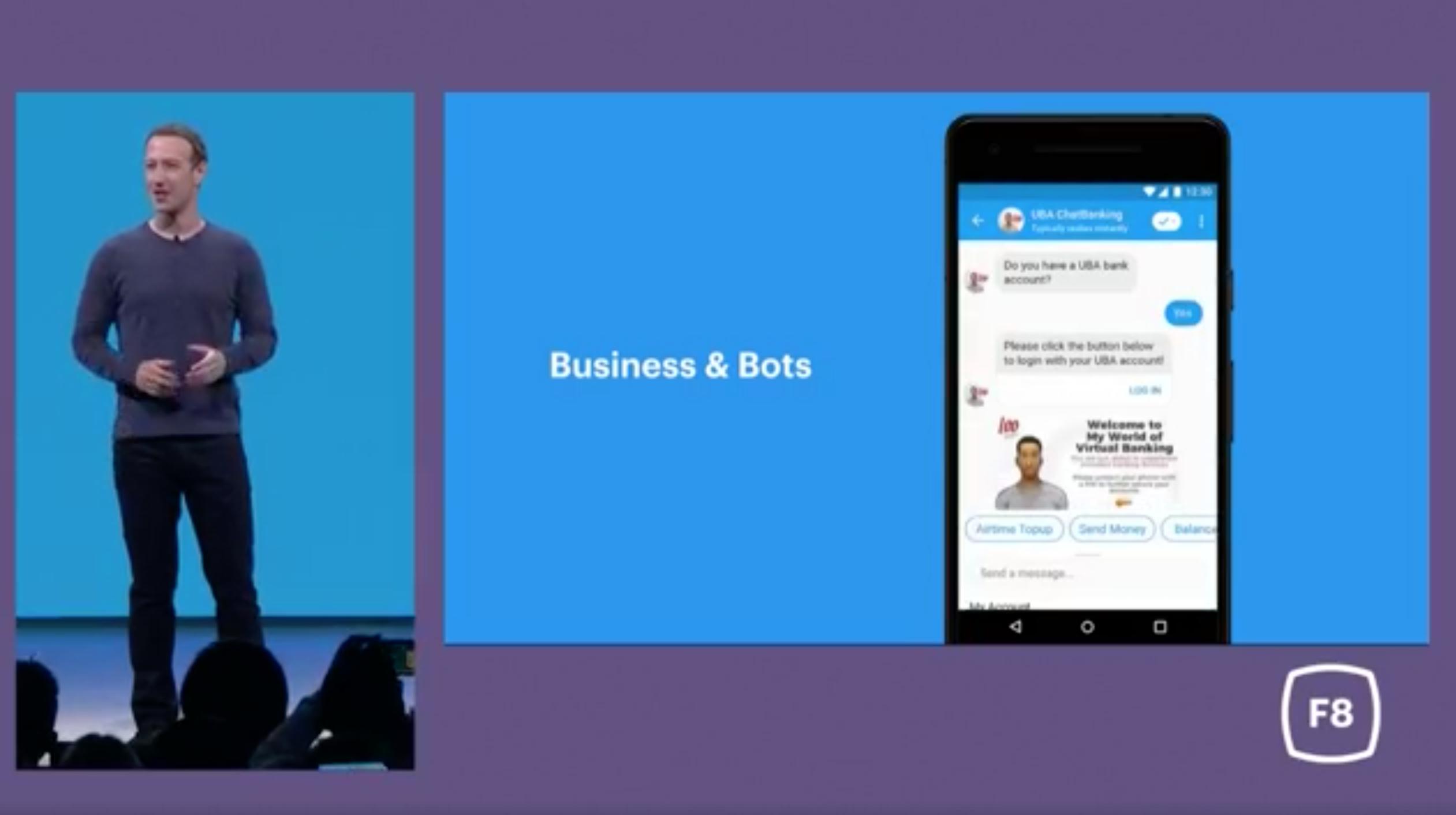 Facebook Messenger Business & Bots