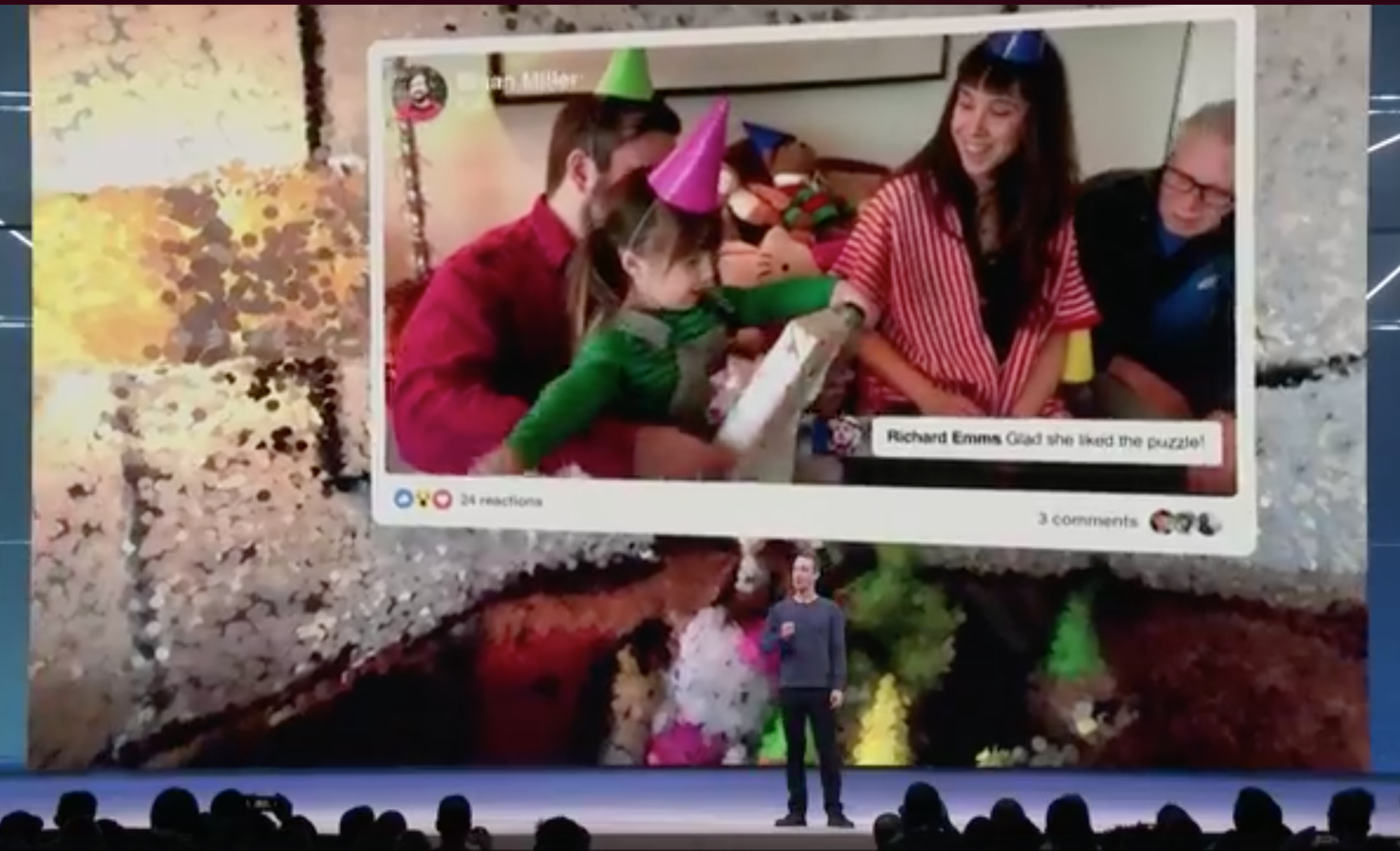 Facebook virtual reality F8 conference