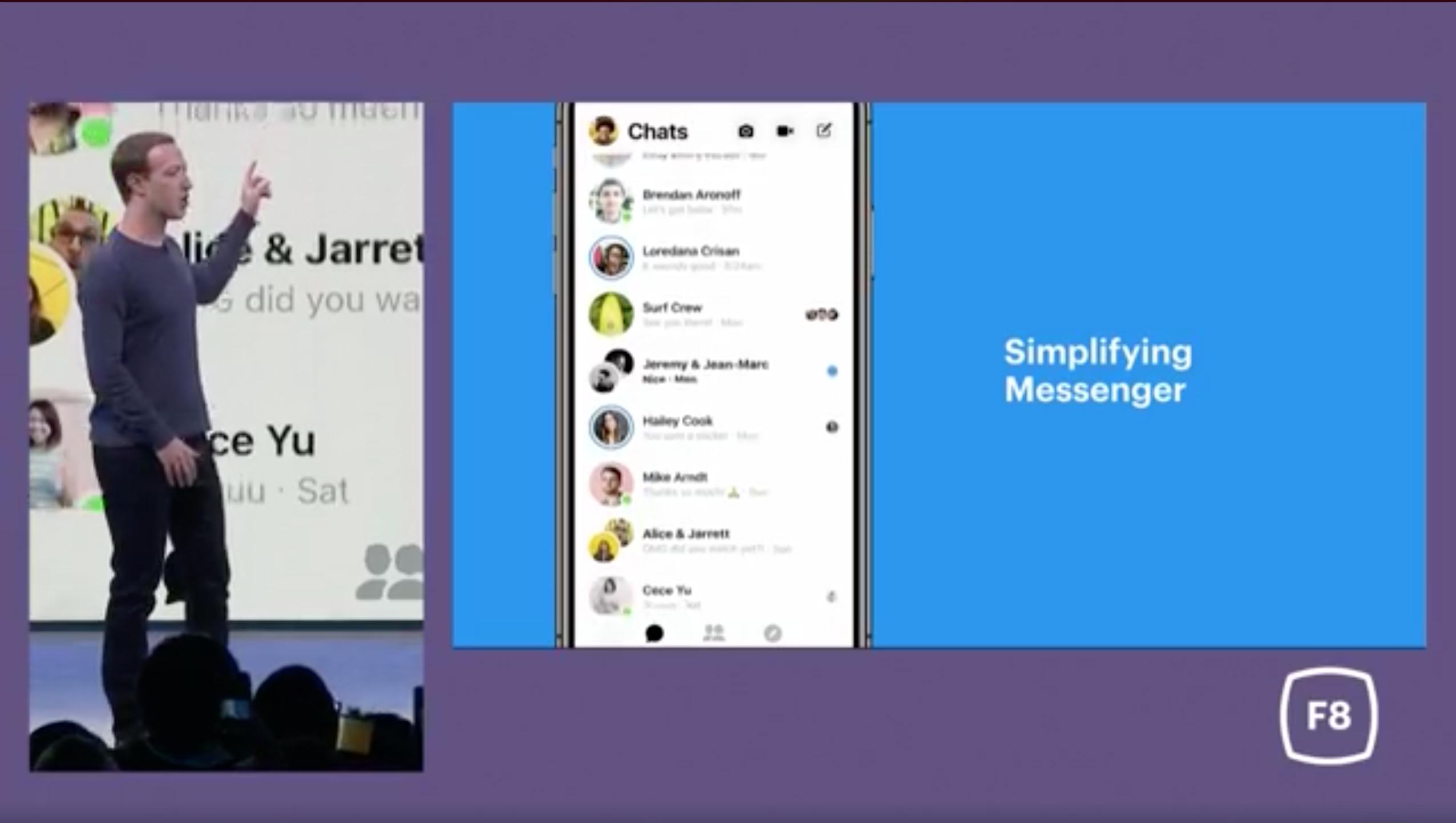 Simplifying Messenger