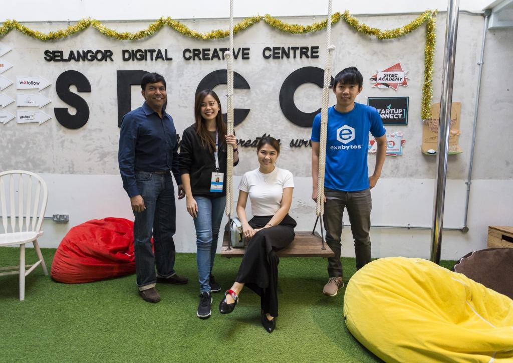 Navin Danapal, Ann Lee, Nicole Wong, Jerrick Yeoh