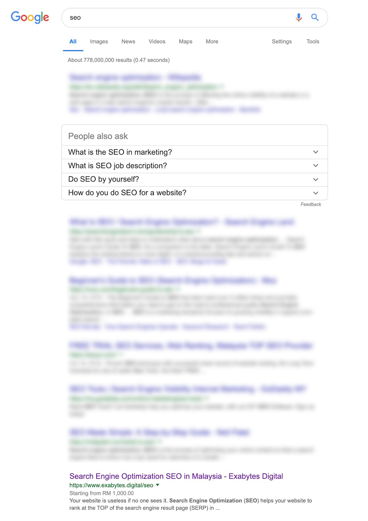 Search Engine Optimazation (SEO)