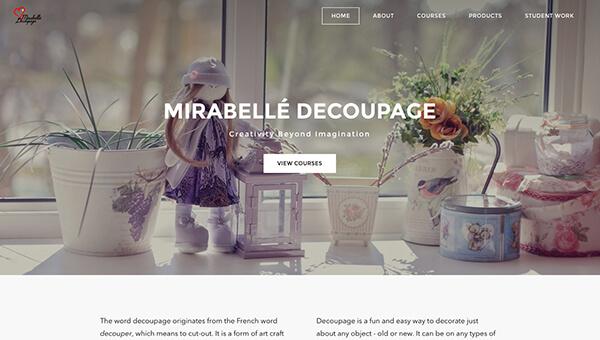 Mirabelle Decoupage