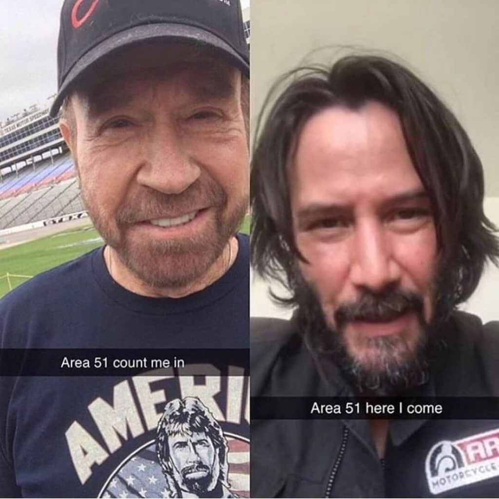 Keanu Reeves and Tim Allen joining raid area 51
