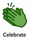 LinkedIn Celebrate Reactions