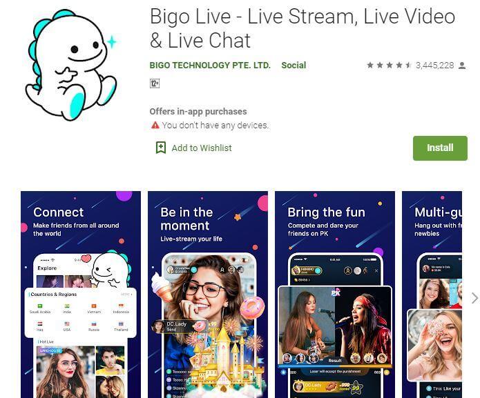 Live streaming - Bigo Live