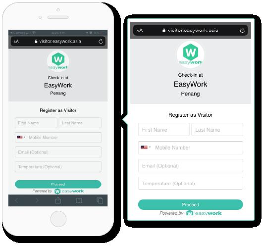 Easywork app used for digital transformation