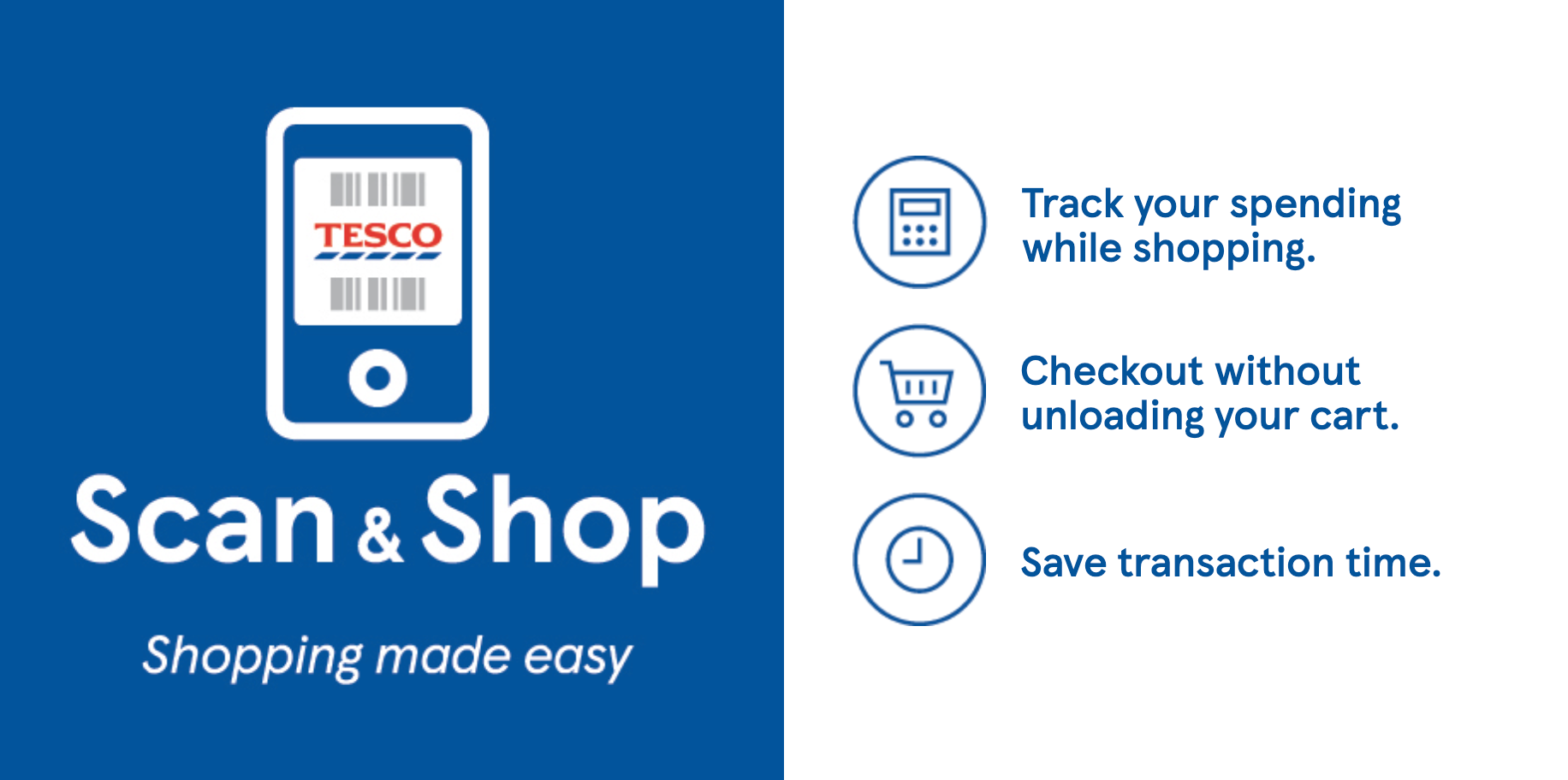 tesco scan and shop