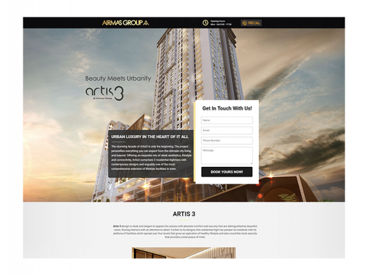 Web Design - Airmas Group